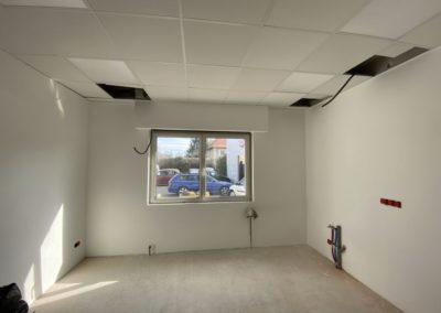 Rénovation des locaux d'un garage