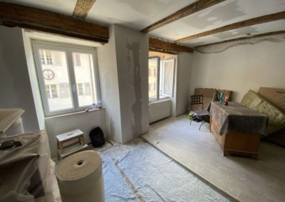 Réhabilitation d'une ancienne maison